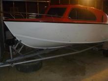 wooden hull70hp