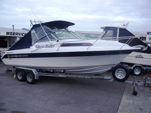 Haines Hunter Sf600 Ub2029 Boats For Sale Nz