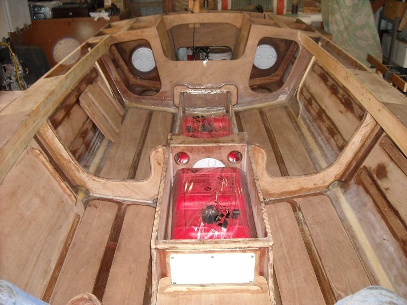 Cackler Skiff design Devlin Boatbuilders USAFishing Boat