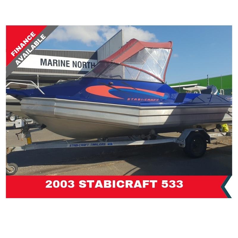 2003 Stabicraft 533 Fish/r