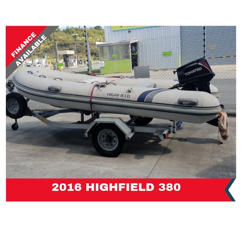2016 Highfield 380 Rigid Hull Inflatable