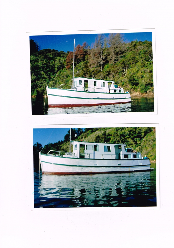 Displacement ex fishing boat