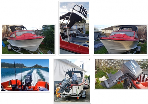 Seacraft15ft with newer outboard
